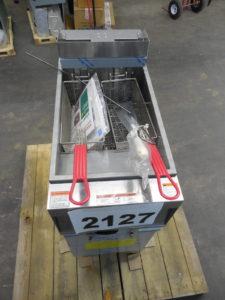 2127.03 Vulcan 1ER50A-1 Fryer