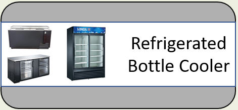 U-Star Refrigerated Bottle Cooler