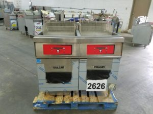 2626 2ER85DF-1-SBL Vulcan Deep Fryer