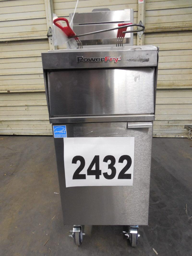 2432 Vulcan 1TR45A-1 Deep Fryer 2