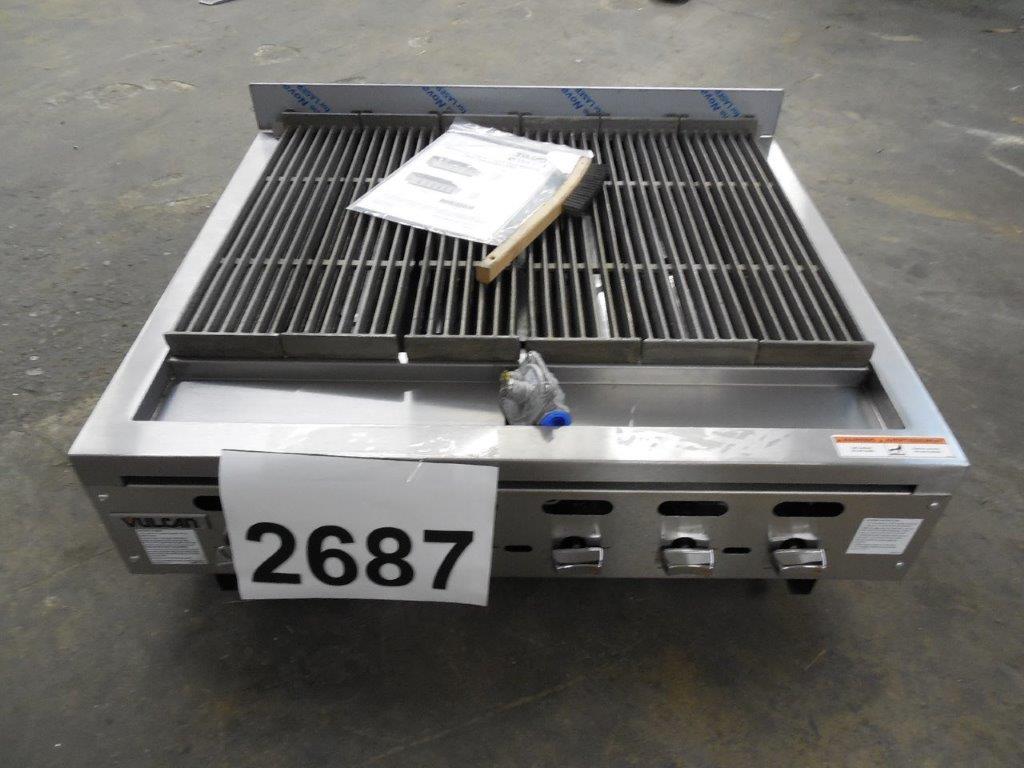 2687 Vulcan VACB36 charbroiler 2 ...