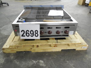 2698 wolf ACB36 charbroiler