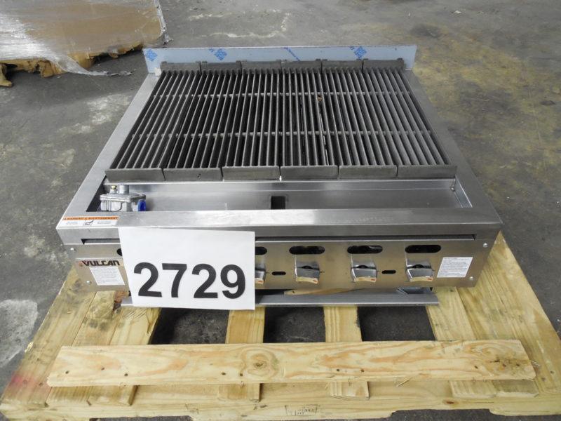2729 Vulcan VACB36 charbroiler