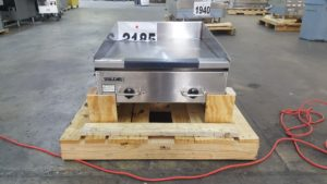 2185 HEG24E-208 griddle 2