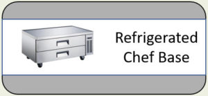 U-Star Refrigerated Chef Base