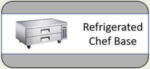 U-Star Refrigerated Chef Base