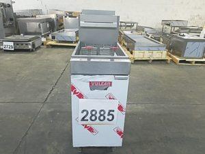 2885 Vulcan LG400 Fryer (2)