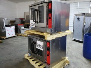 2949-2950 Vulcan VC55GD double stack convection ovens (3)