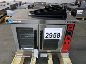 2958 Vulcan VC4GD Convection Oven (2)