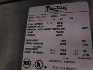 2981 Traulsen UC2LT Freezer (5)