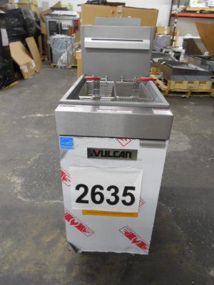 2635 Vulcan 1VEG35M-1 Fryer (5)