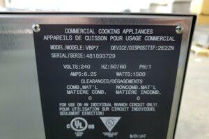 3302 Vulcan VBP7 Warming Cabinet (1)