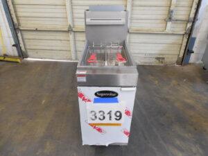 3319.06 Vulcan LG400-5 deep fryer (6)