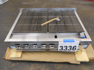 3336.06 Vulcan VACB47 charbroiler grill (6)