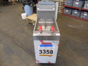 3358.07 Vulcan LG400 deep fryer (7)