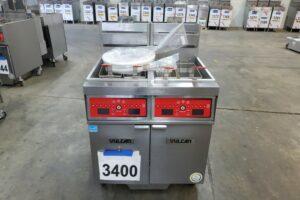 3400 Vulcan 2TR45CF-1 deep fryer (2)