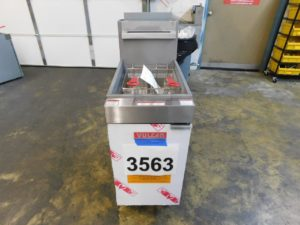 3563.01 Vulcan LG400-1 deep fryer (1)
