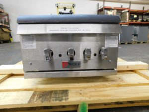 3566.05 Wolf WSPR2FN-1 Stock Pot Burners (2)
