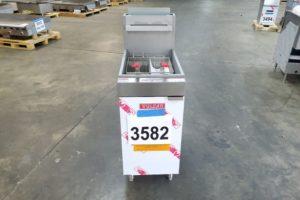 3582 Vulcan LG400-1 deep fryer (2)