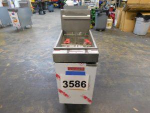 3586.05 Vulcan LG400-1 deep fryer (5)