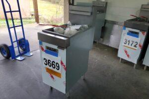 3669 Vulcan LG400-1 deep fryer (2)