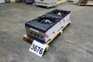 3676 Vulcan VSP200F-1 stock pot burners (2)