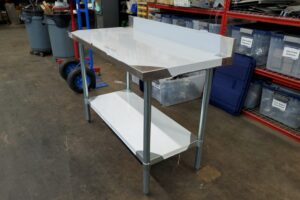 48 stainless steel prep table (5)