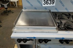 Griddle burner topper (6)