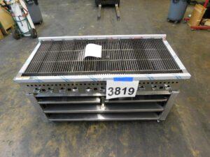 3819.06 Vulcan VCCB60-DIA1-SB charbroiler smoker (3)