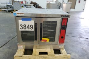 3849 Vulcan VC4GD convection oven (2)
